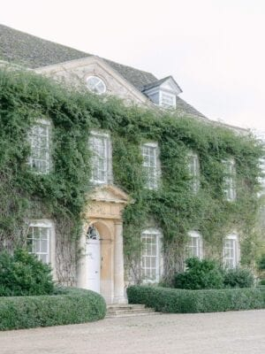 Claire Graham Cornwell manor covered in vines