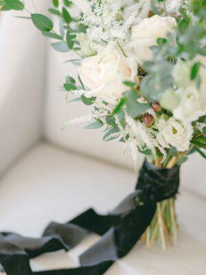 Flower arrangement at Cornwell Wedding Venue - Amie Jackson Weddings & Events - parties celebrations surrey
