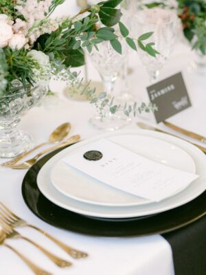 Amie Jackson weddings and events planner sets the perfect table for your guests - Wedding planner surrey