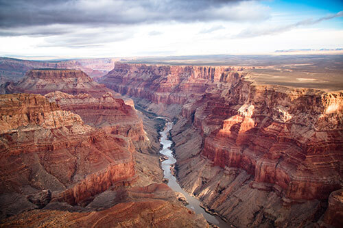 Picture of a beautiful canyon. Amie Jackson loves travelling - modern wedding planner surrey