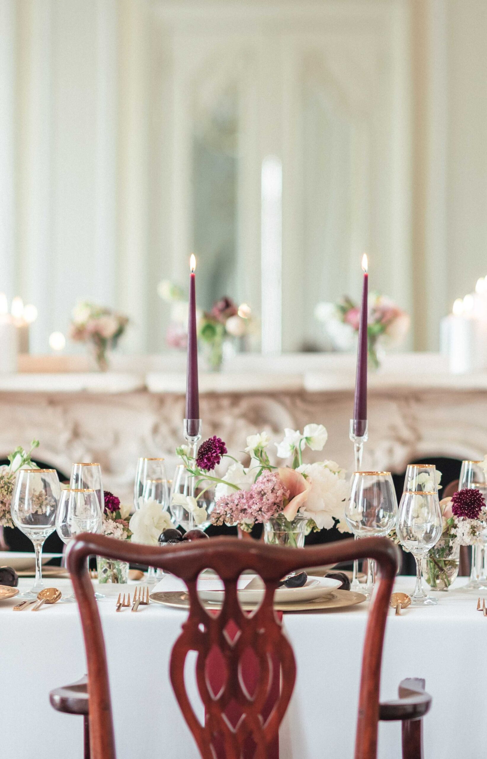 Stunning tablescape designed by Amie Jackson Weddings & Events